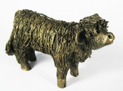 Picture of Highland Bull Calf Standing Figurine