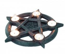 Picture of Pentagram Tealights Holder