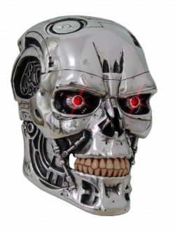 Picture of Terminator Wall Plaque with Light up Eyes