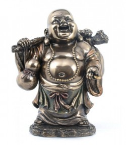 Picture of Standing Buddha Bronze Figurine