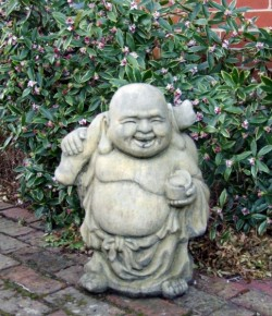 Picture of Large Travelling Buddha Stone Statue