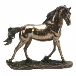 Picture of Trotting Horse Bronze Figurine