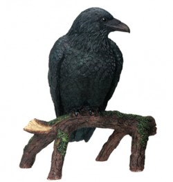 Picture of Quoth The Raven Nevermore Figurine