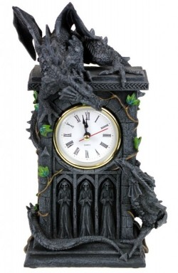 Picture of Gothic Dragons Clock