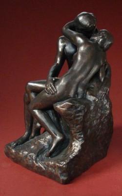 Picture of The Kiss Bronze Ornament 24 cm (Rodin)
