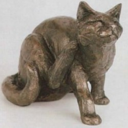 Picture of Whiskey the Cat Sculpture