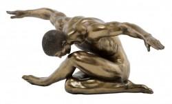 Picture of Harmony Nude Male Bronze Figurine 44 cm