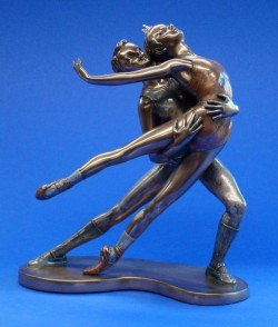 Picture of Ballet Bronze Figurine