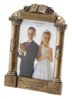 Picture of First Holy Communion Bronze Frame