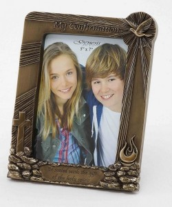 Picture of My Confirmation Bronze Frame