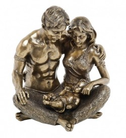 Picture of Celtic Family Bronze Sculpture
