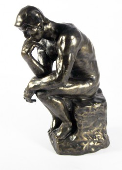 Picture of The Thinker Bronze Figure LARGE 26 cm (Auguste Rodin)