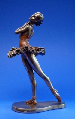 Picture of Ballerina Balance Bronze Figurine