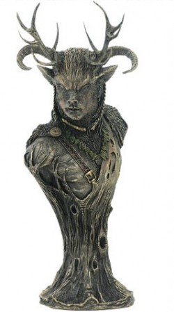 Picture of Cernunnos Bust Figurine 33 cm (Neil Sims)