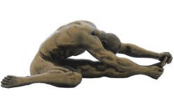 Picture of Stretching Nude Male Figurine