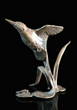 Picture of Kingfisher Bronze Miniature (Butler and Peach)