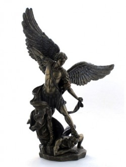 Picture of Archangel Michael and Lucifer Bronze Figurine 37 cm