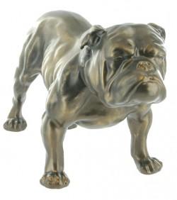 Picture of Bulldog Bronze Sculpture
