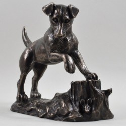 Picture of Jack Russell Bronze Sculpture (Harriet Glen)