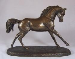 Picture of Cantering Arabian Horse Figurine (Harriet Glen)