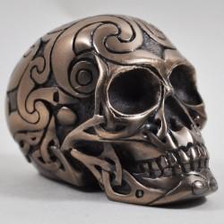 Picture of Tribal Skull Bronze
