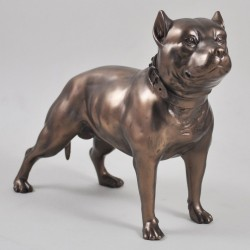 Picture of Pit Bull Terrier Bronze Figurine