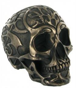 Picture of Tribal Skull Bronze Medium