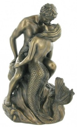 Picture of Seduction Bronze Figurine (Love is Blue)