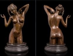 Picture of Clarissa Nude Lady Bronze Figure