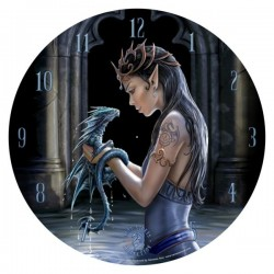 Picture of Water Dragon Clock 34 cm (Anne Stokes)