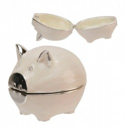 Picture of Pig Keepsake Box Juliana
