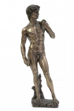 Picture of David Bronze Figurine
