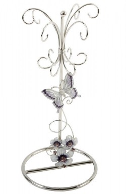 Picture of Purple Butterfly Jewellery Holder