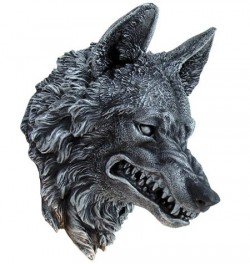 Picture of Wolf Head Wall Plaque 30 cm