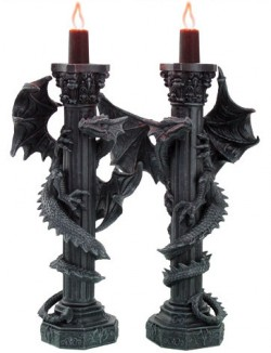 Picture of Dragon Candle Holders (Set of 2)