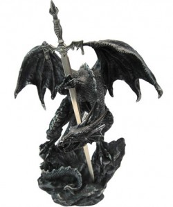 Picture of Black Dragon Letter Opener