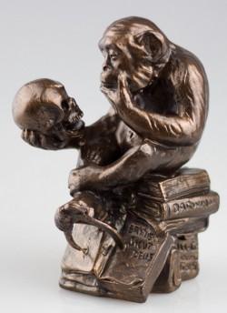 Picture of The Darwin Monkey Figurine Rheinhold
