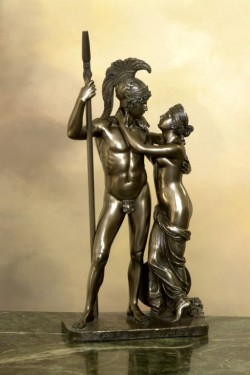 Venus and Mars Bronze Statue 37 cm