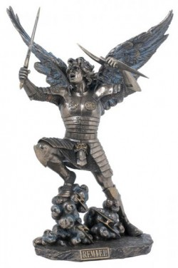Picture of Archangel Remiel Bronze Figurine