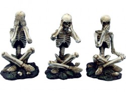 Picture of Three Wise Skeletons Ornaments