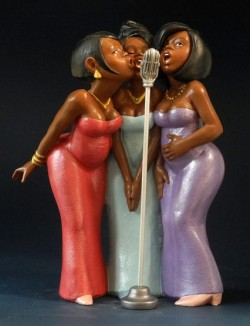 Picture of Backing Singers Figurine