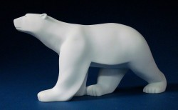 Picture of Polar Bear by Pompon Figurine
