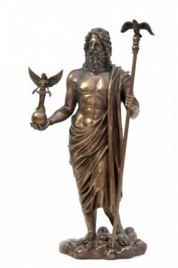 Picture of Zeus Bronze Statue 31 cm