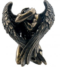 Picture of Angels Retreat Bronze Figurine