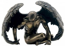 Picture of Angel Strength Bronze Figurine