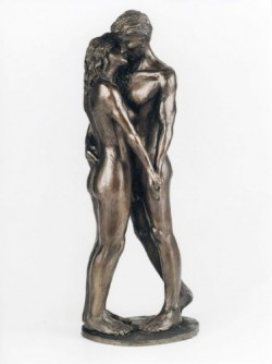 Picture of The Kiss Romantic Couple Figurine (Frith)