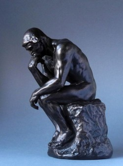 Picture of The Thinker Bronze Figure LARGE 36 cm (Auguste Rodin)