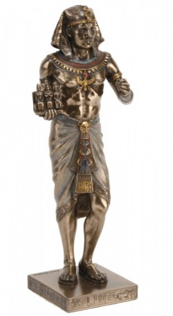 Picture of Egyptian Pharaoh Figurine 20 cm